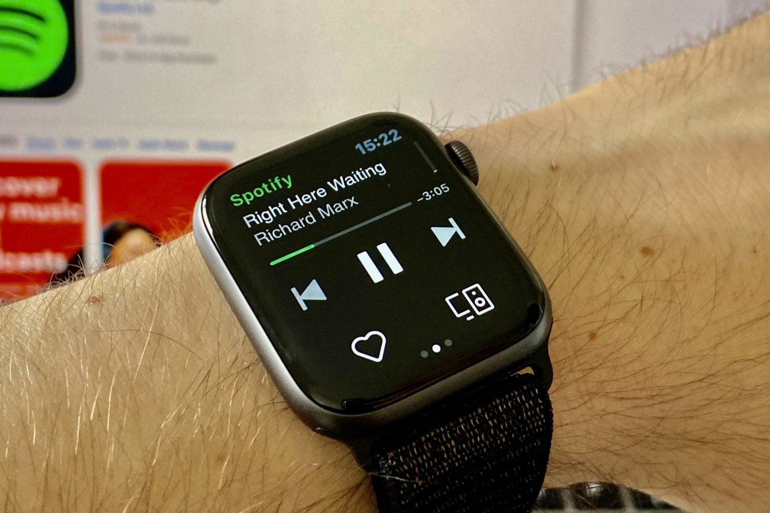 Spotify for Apple Watch – Stream music without an iPhone