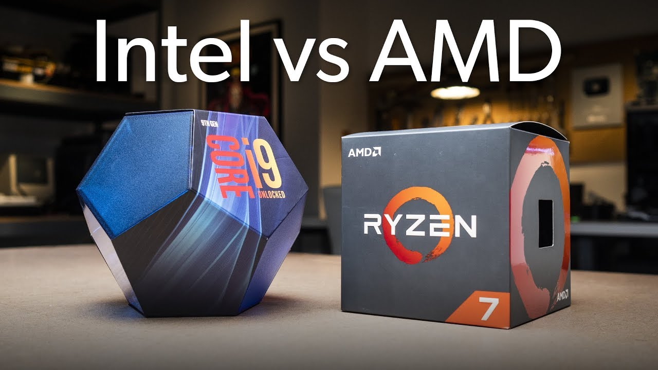 The best processors from AMD and Intel in comparison
