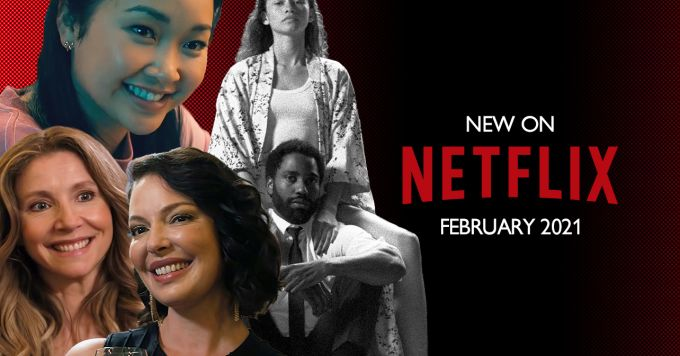 Movies and series starting on Netflix in February