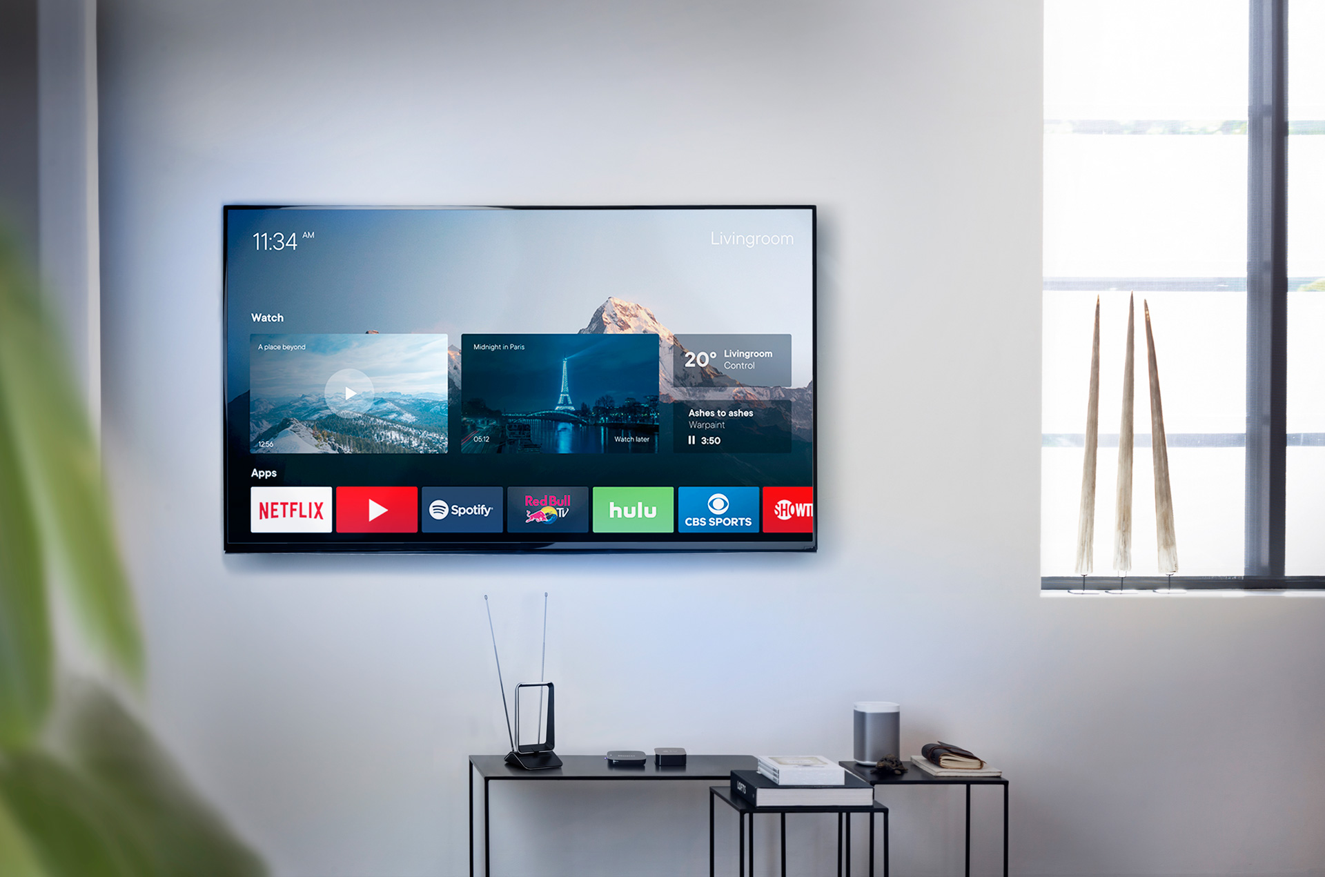 Wirelessly distribute the TV signal around the house in just 3 steps