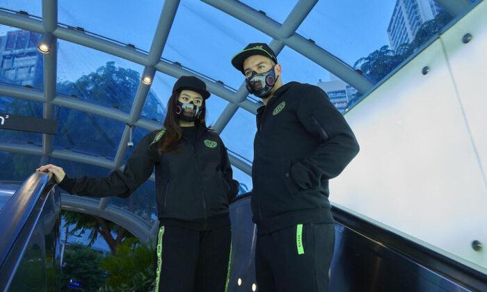 High-tech face mask against corona virus