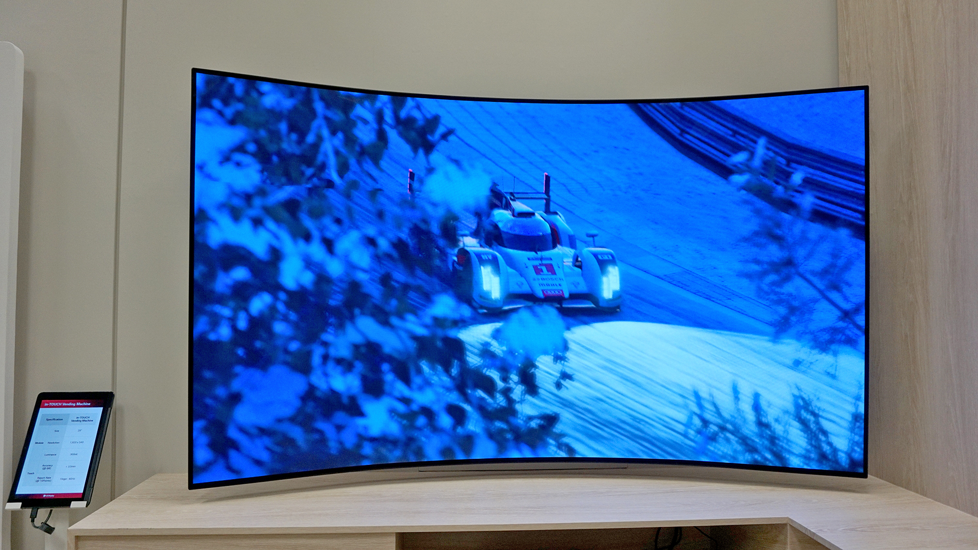LG shows TVs that can be bent at the push of a button