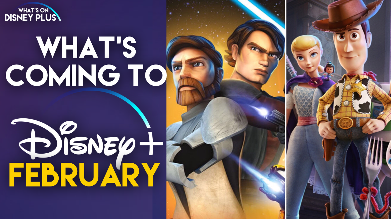 New movies and series on Disney + in February