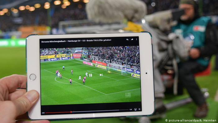 What threatens if I illegally watch Bundesliga games?