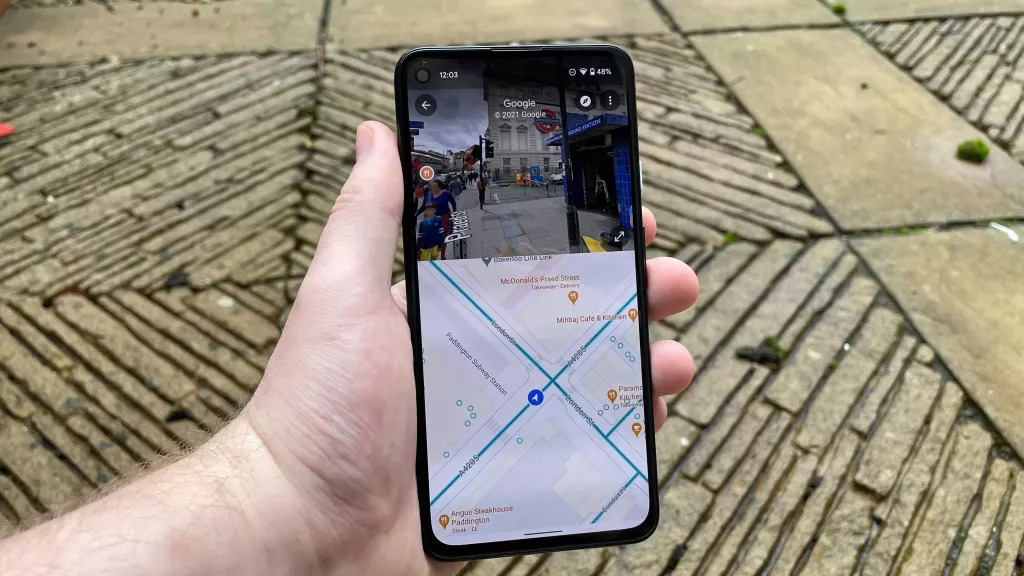 Google Maps now with split-screen function for navigation