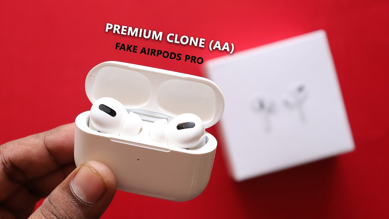 5 characteristics that can help you identify counterfeit AirPods Pro