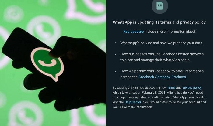 Anyone who does not accept the new WhatsApp terms and conditions will be muted