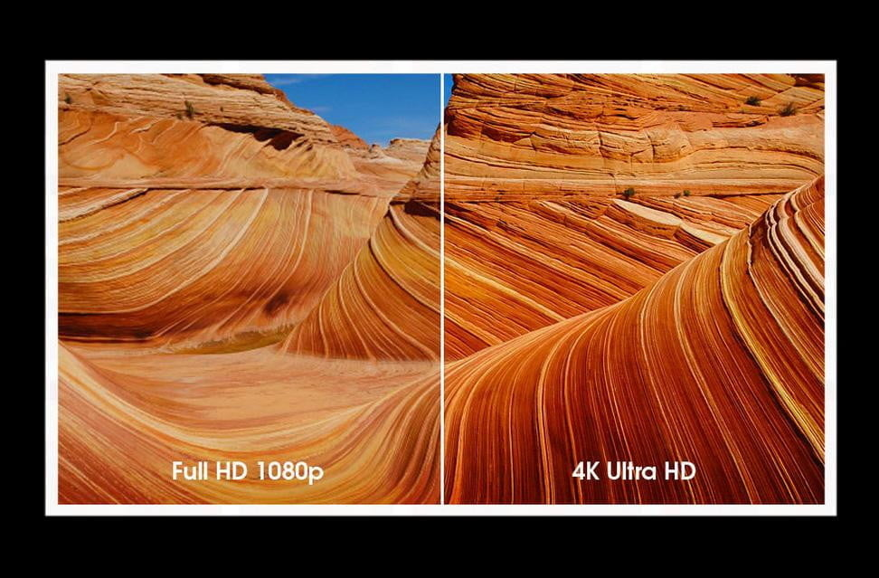 The difference between UHD and 4K in TV