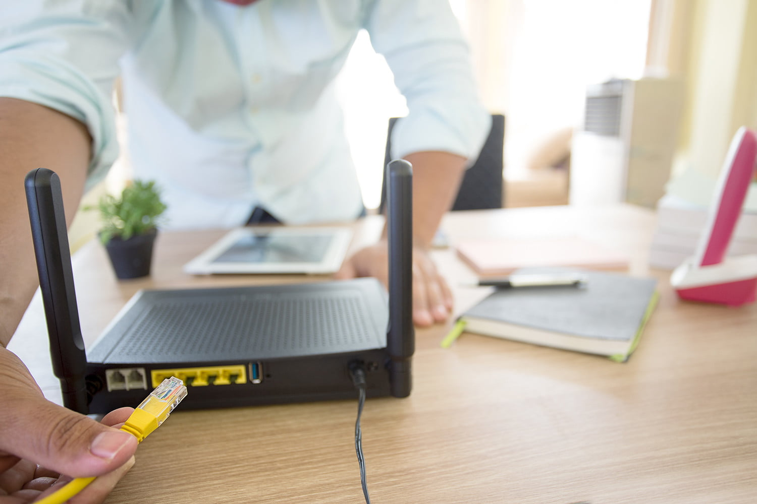 It is essential that you switch off your router regularly!