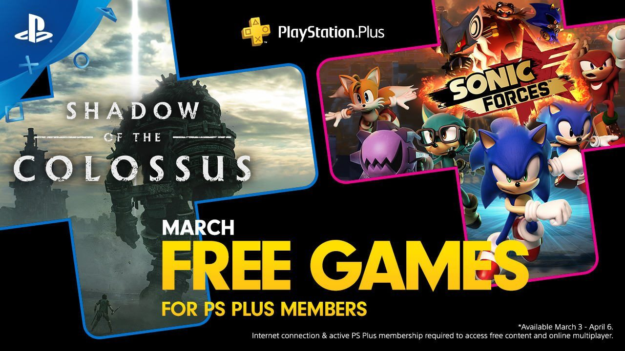 What are the free PlayStation games good for in March?