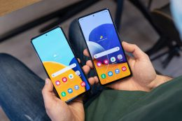 Galaxy A52 and A72 – new smartphones from Samsung in comparison