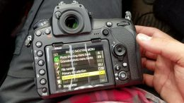 The correct settings for the system camera