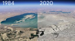 Time lapse in Google Earth shows how places change over the years