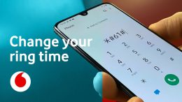 Easily change the ring time on the mobile phone using the phone app